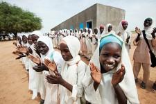 School Girls - UN Photo/Albert Gonzales Farran