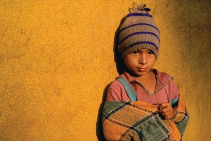 Nepalese boy. Photo by Bread for the World.