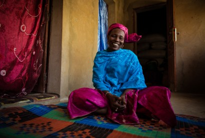 Hapsatou Kah is taking on malnutrition in her village. Morgana Wingard for USAID.