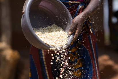 In rural Zambia, USAID programs in partnership with the Zambian government is helping equip villagers with the knowledge of proper nutrients. Joseph Molieri/Bread for the World.