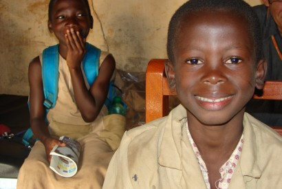 Children rescued from the streets and child traffickers in Benin. André Roussel/USAID.