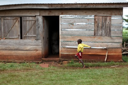 Lawrence, a boy staying at Omoana House, a child rehabilitation center in Jinja, Uganda. Laura Elizabeth Pohl/Bread for the World.