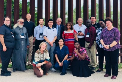 Delegation convened by Christian Churches Together visiting the U.S.-Mexico border.