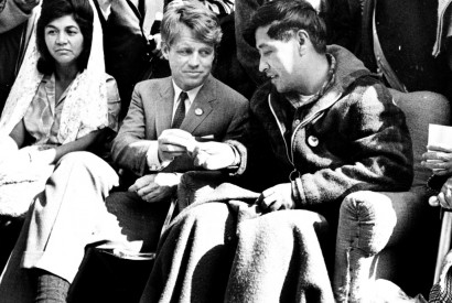 Cesar Chavez and the late Sen. Robert F. Kennedy. Photo courtesy of the U.S. Environmental Protection Agency.