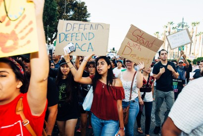 Supporters of DACA in Los Angeles, Calif. Molly Adams/Wikimedia Commons.