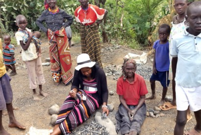 Ms. Wabwire, grandma Rose and other community members in Marigat. Photo: Bread for the World Institute
