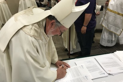 The Most Reverend Jaime Soto, the ninth Bishop of Roman Catholic Diocese of Sacramento in California.