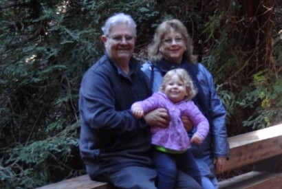 Dave, Helen and their beautiful granddaughter. Photo courtesy of the Mezzera family.