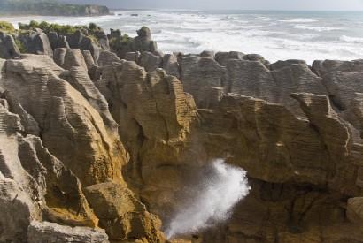 The Pancake Rocks in Punakaiki, New Zealand. Christian Mehlführer/Wikimedia Commons.