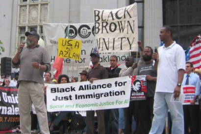 Photo courtesy of Black Alliance for Just Immigration.