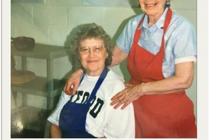Sharon Gillen and her mom. Photo courtesy of Sharon Gillen.