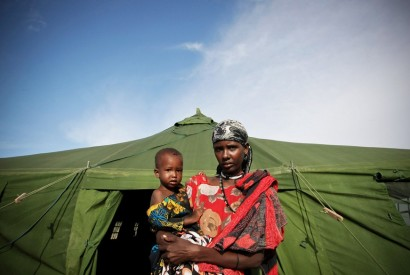 In 2015, 65.3 million people around the world were forcibly displaced. UN/Stuart Price.