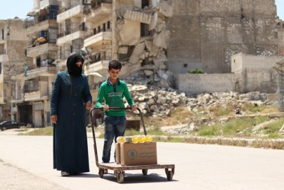 Life in Syria is still a challenge for families who have lived through the conflict. WFP/Marwa Awad