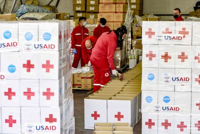 USAID and UNICEF provide additional support to vulnerable families during COVID-19 pandemic. (UNICEF/UNI313748/Georgiev