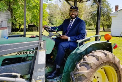 The Rev. Dr. Heber M. Brown III. Courtesy of Black Church Food Security Network