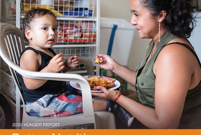 2020 Hunger Report, Better Nutrition, Better Tomorrow