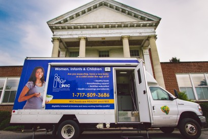 WIC on Wheels of Lancaster, Pa., goes directly into communities and offers services. Photo: Joseph Terranova for Bread for the World.
