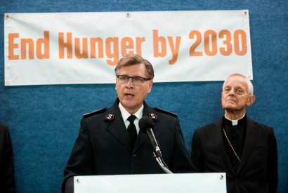 The Salvation Army's David Jeffrey. Photo by Zach Blum for Bread for the World