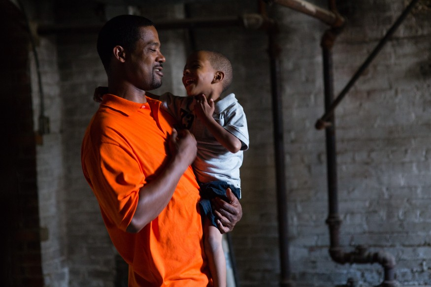Dominic Duren spends a few moments with his son Dominc. Dominic is the director of the HELP Program in Cinncinati, Ohio. Joseph Molieri / Bread for the World