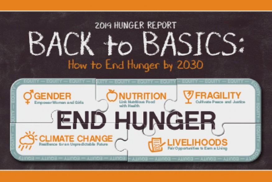 The 2019 Hunger Report provides a roadmap to end hunger by 2030.