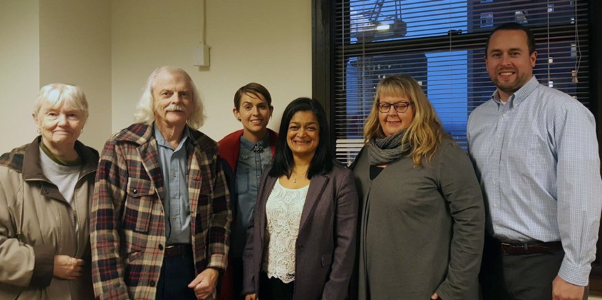 Bread activists in Seattle meet with newly elected U.S. Rep. Pramila Jayapal (Wash.-07).