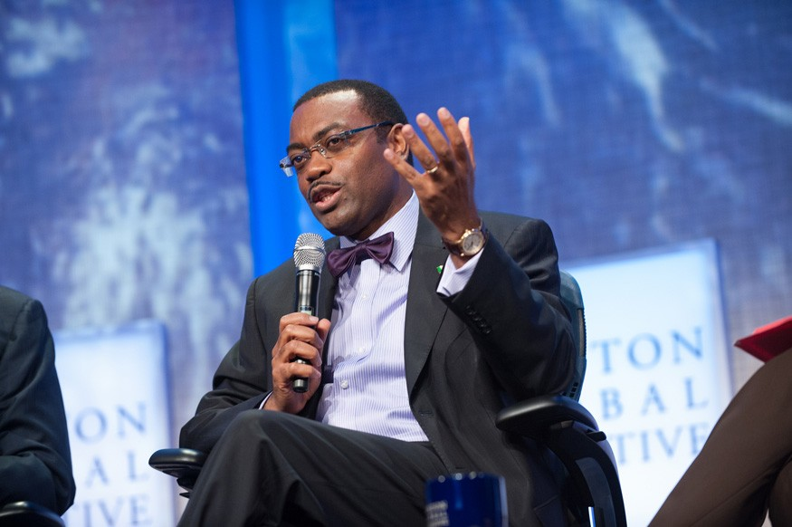 DR. AKINWUMI AYODEJI ADESINA, the President of the African Development Bank (AfDB), will be recognized as the 2017 World Food Prize Laureate. Photo: Juliana Thomas / Clinton Global Initiative