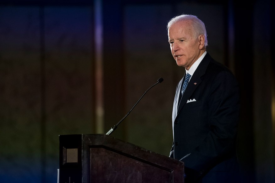 Former Vice President Joe Biden speaking at the 15th Annual Gala to End Hunger. Darren Ornitz for Bread for the World.