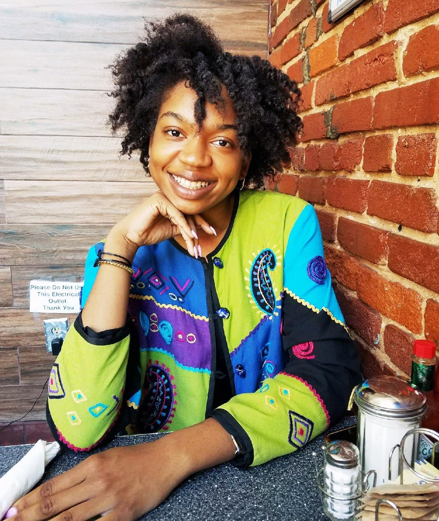Brianna Tenè Harris is a first-generation college student and a native of Queens, New York.