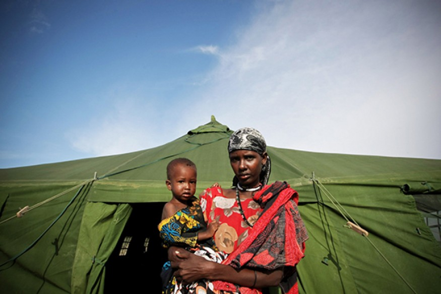Hunger is both a cause and effect of war and conflict. Photo: UN / Stuart Price