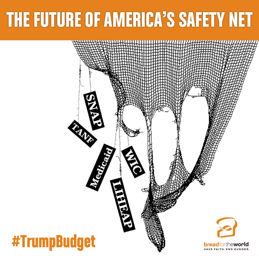 President Trump's budget robs poor people to pay the rich, says David Beckmann.