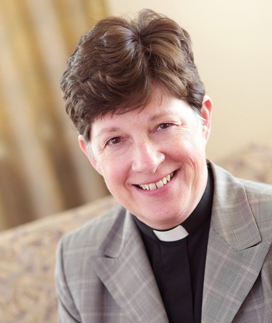Rev. Elizabeth Eaton is presiding bishop of the Evangelical Lutheran Church in America.