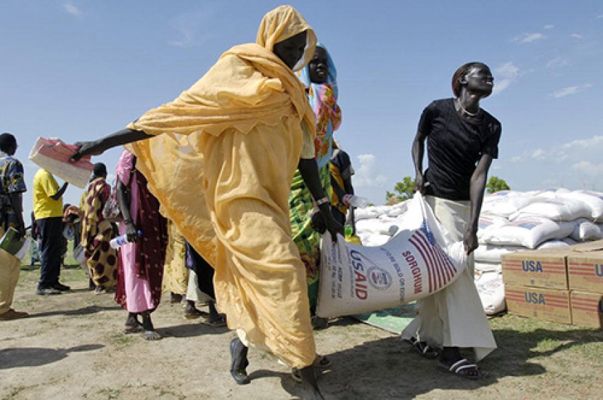 Assistance from the U.S. government helps people help themselves. Photo: UN / Tim McKulka