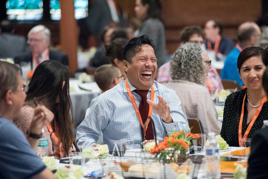Board member Fernando Tamara during the 2018 Advocacy Summit and Lobby Day. Lacey Johnson for Bread for the World.