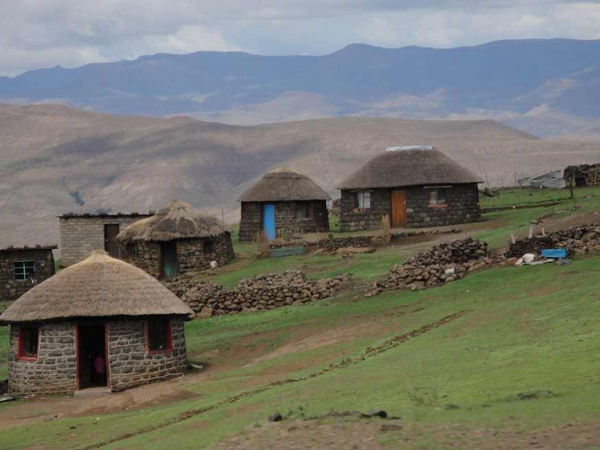 Mountain village in Lesotho. Reverie Zurba/USAID.
