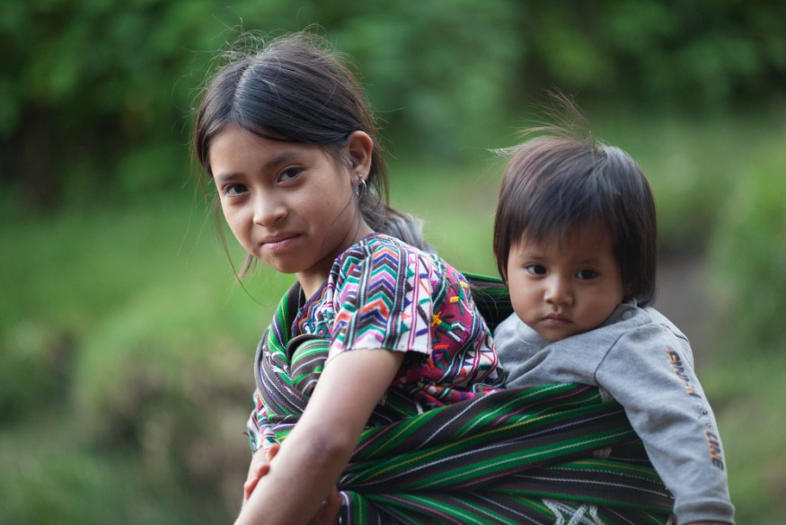 Guatemalan children. Photo by Joseph Molieri / Bread for the World