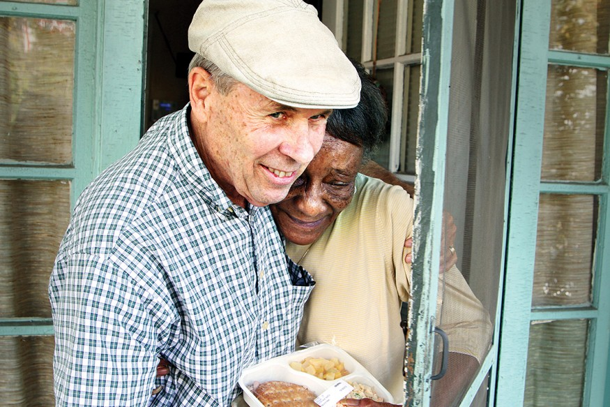Good health cannot be separated from good nutrition. Photo courtesy of Meals on Wheels America.