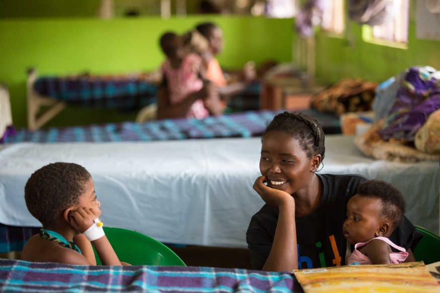 In rural Zambia, USAID programs in partnership with the Zambian government are helping equip villagers with the knowledge of proper nutrients. Joseph Molieri/Bread for the World.