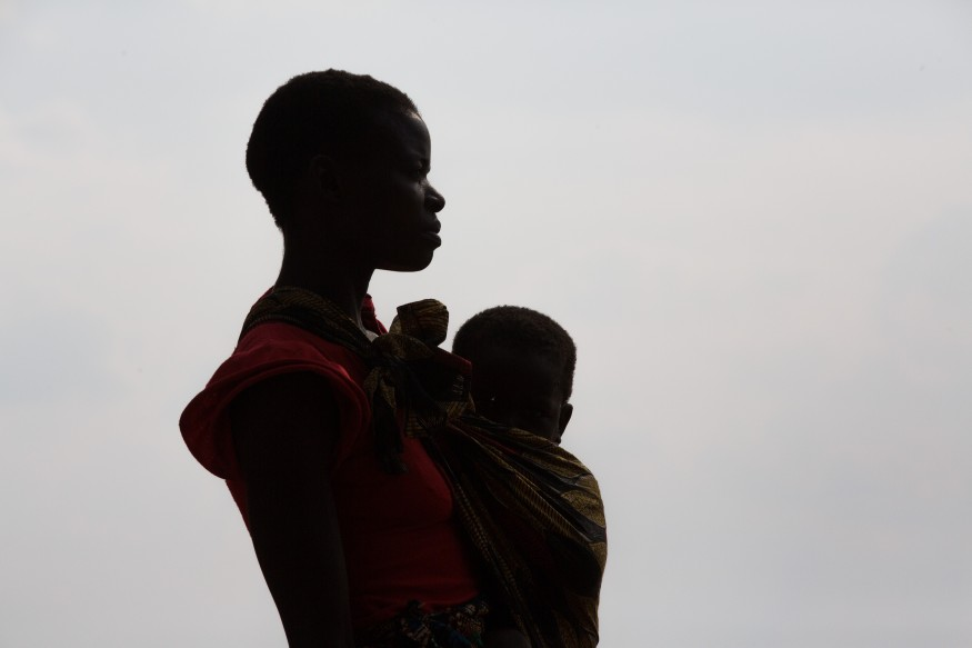 Mother and child in Zambia. Joseph Molieri/Bread for the World.