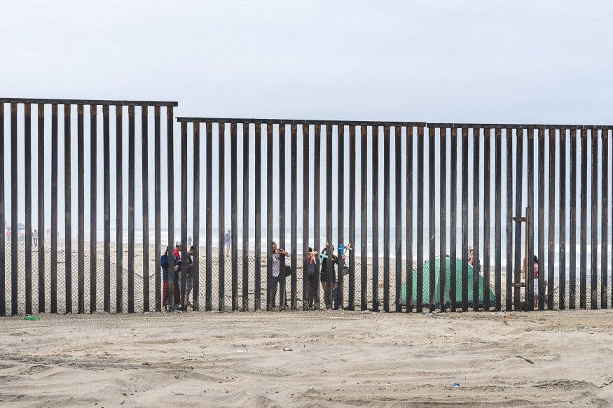 U.S.-Mexico border wall.