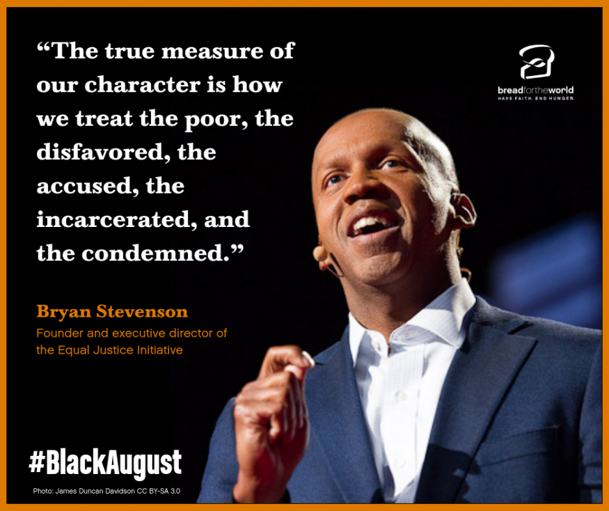 Bryan Stevenson is the Founder and executive director of the Equal Justice Initiative.