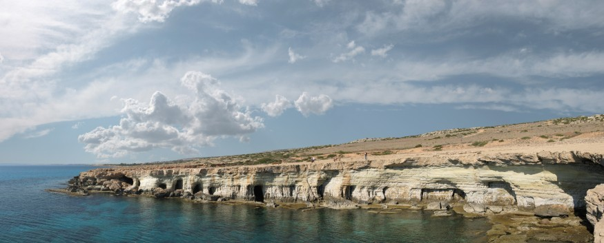 Cape Greco National Park‎, Cyprus. Wikimedia Commons.
