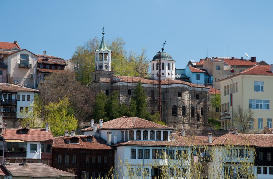 The Church of Saints Constantine and Helena in Veliko Tarnovo, Bulgaria. Wikimedia Commons