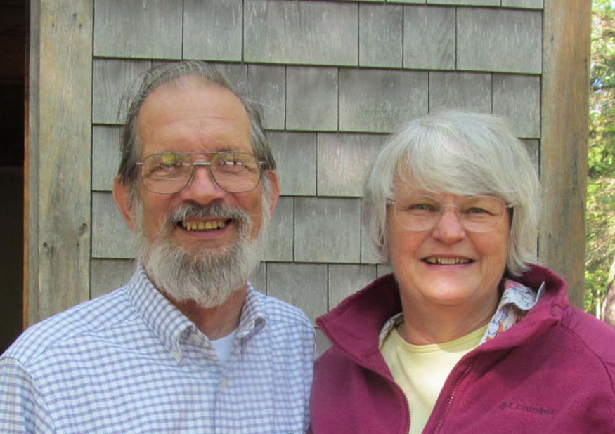 Bob and Vivian Parrish. Photo courtesy of the Parrishes.