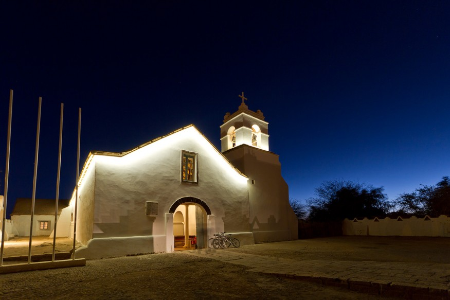 Church of San Pedro de Atacama is the second oldest church in Chile. Wikimedia Commons.