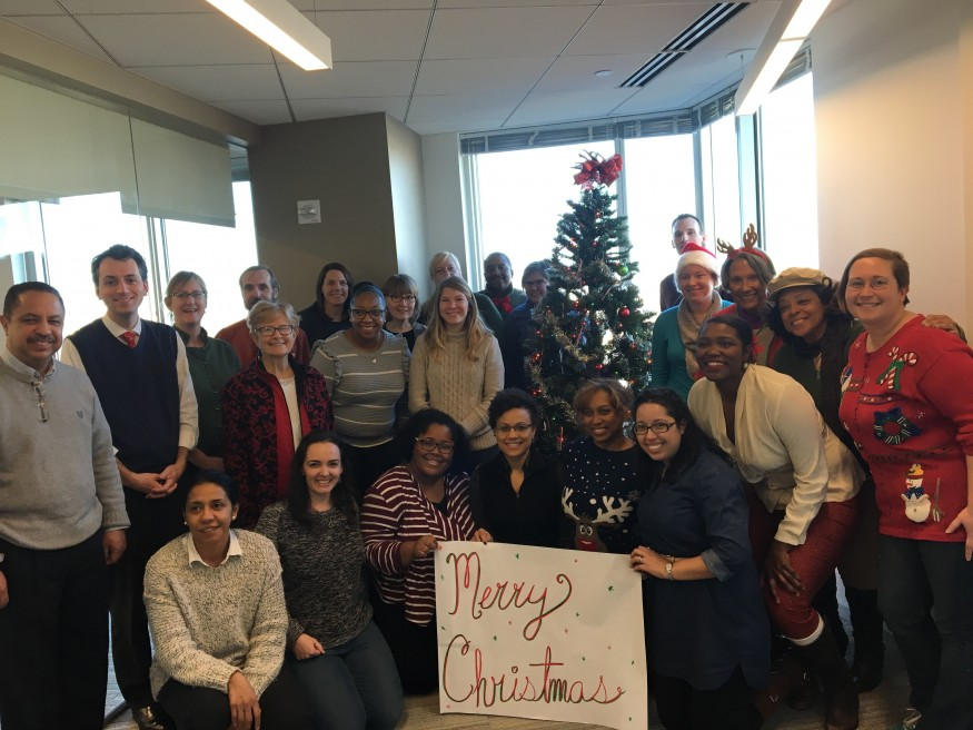 Bread for the World staff wishes you a Merry Christmas.