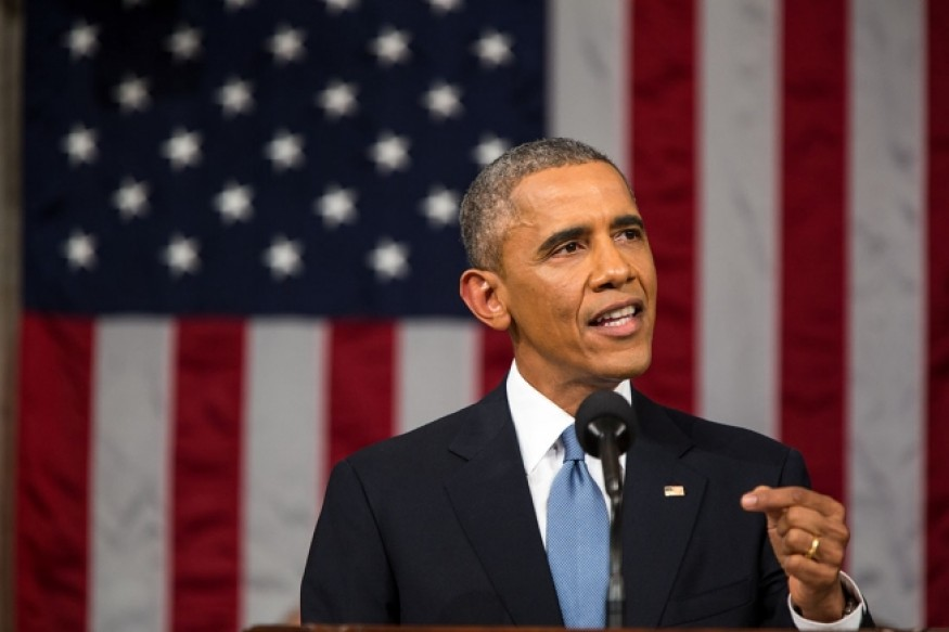 President Obama delivers the State of the Union address 2015; White House photo