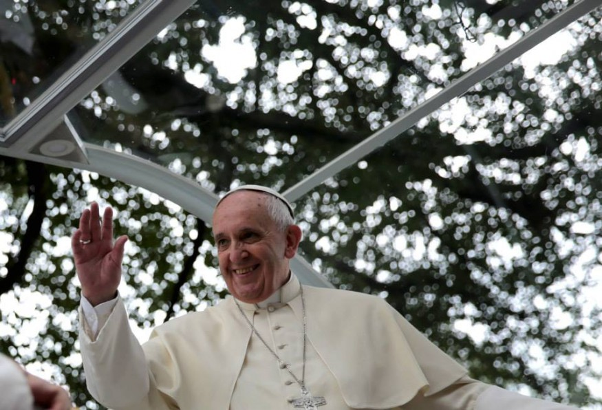Pope Francis. Photo from Wikimedia Commons.