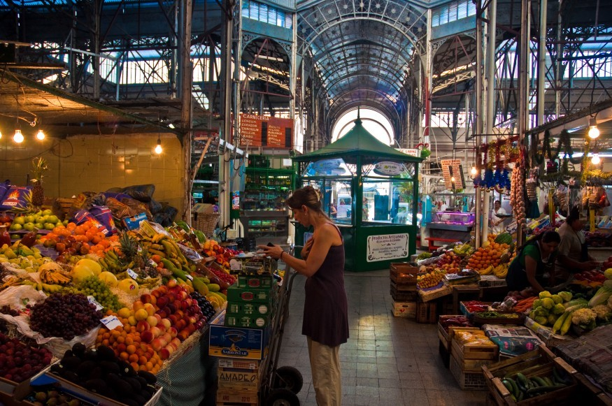 San Telmo Market in Buenos Aires, Argentina. Wikimedia Commons.