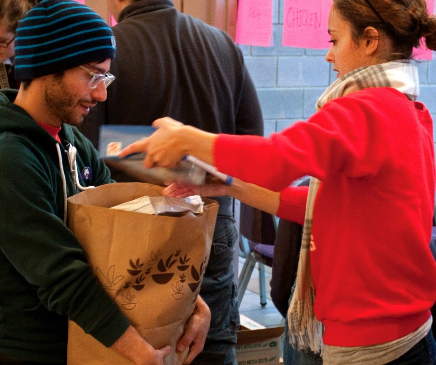The overall rate of food insecurity among college students is 36 percent—much higher than the national average of 11.8 percent, according to researchers at Temple University and the Wisconsin HOPE Lab. Photo: Mark Fenton / Bread for the World