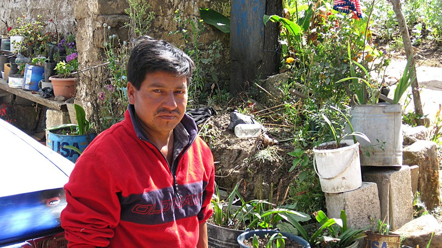 Isaías immigrated twice to the United States to support his family in the department of San Marcos, Guatemala. Photo: Andrew Wainer for Bread for the World